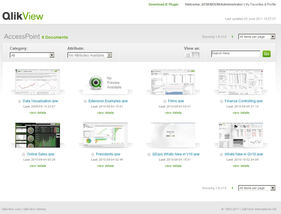 Qlikview 11 Social Business Discovery
