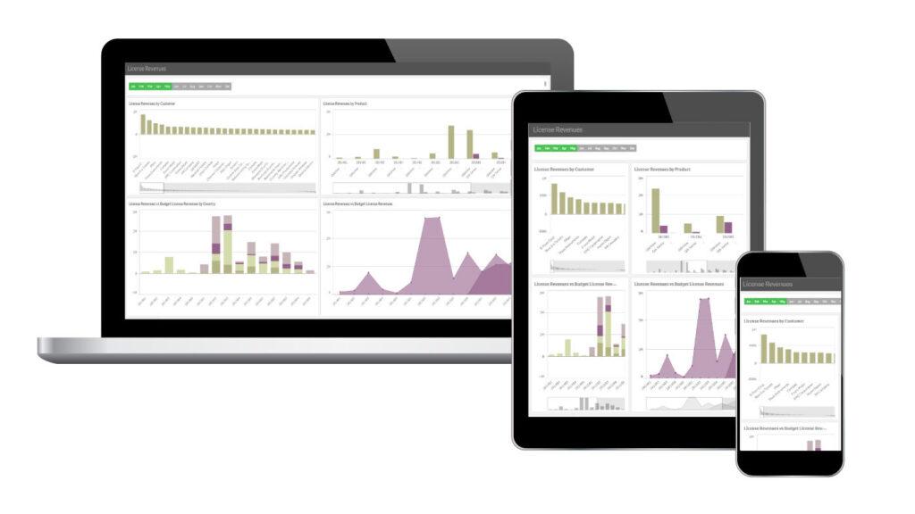 Qlik Sense Mobile Business Intelligence Analytics SELDA Informatica
