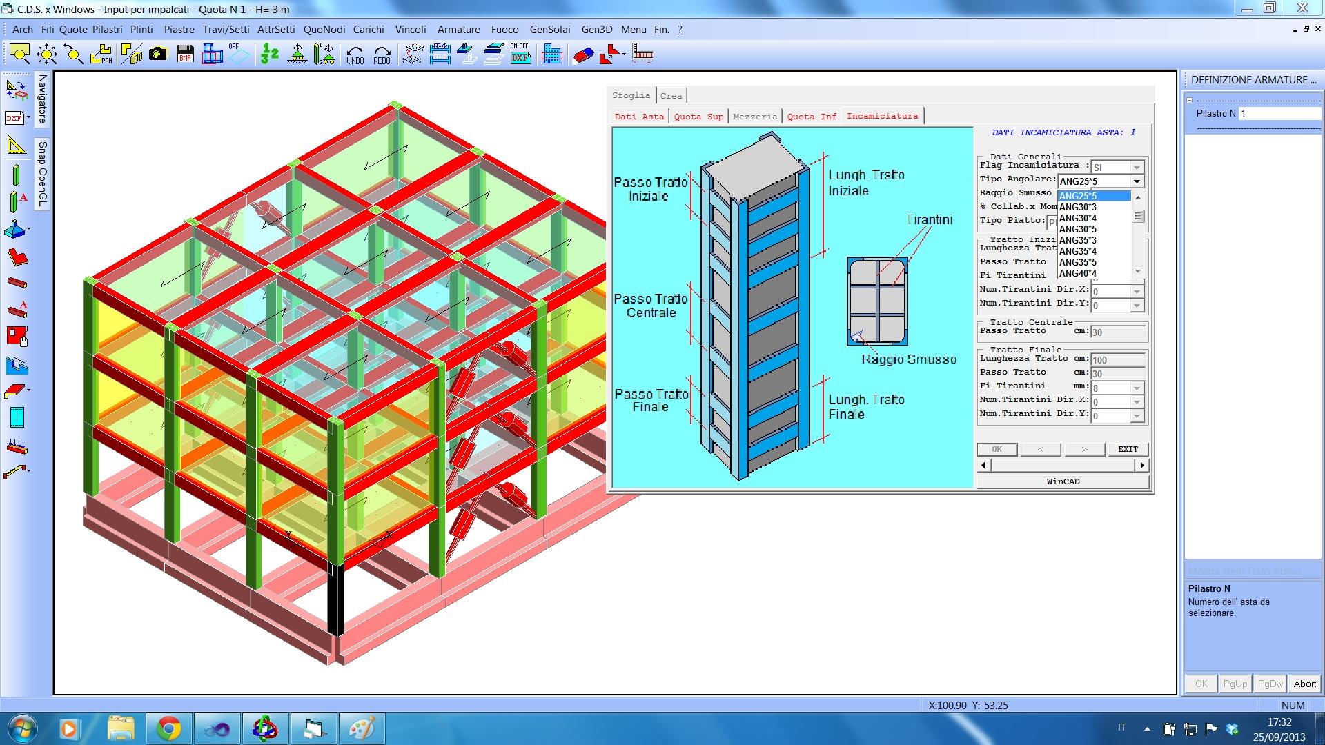 Software per il Calcolo Strutturale e Disegno Tecnico