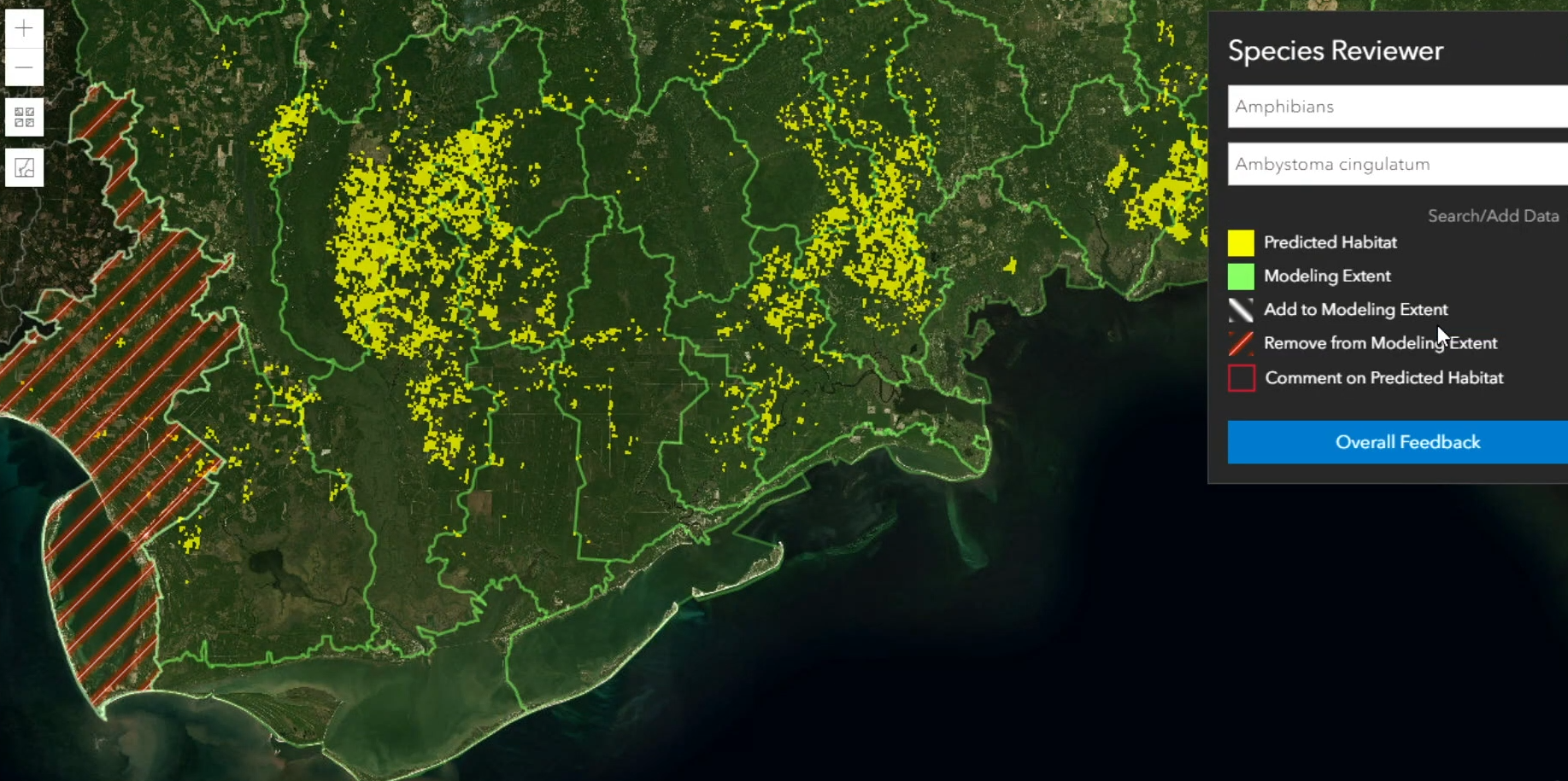 Big Data e AI Convergono in una Mappa per Proteggere la Biodiversità