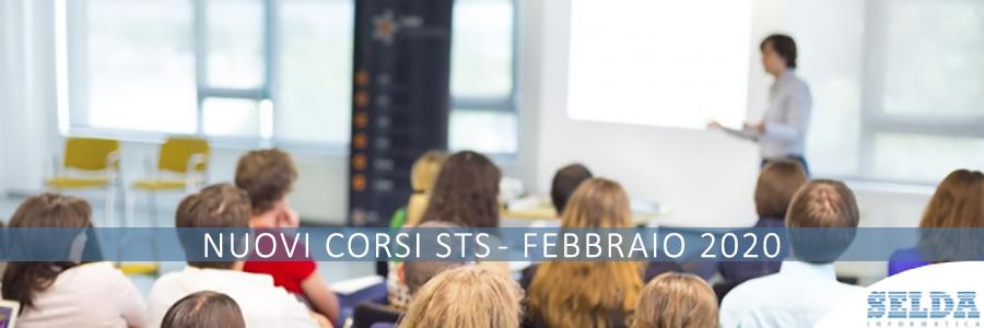 Nuovi Corsi STS Febbraio 2020 Selda Informatica Ascoli Piceno