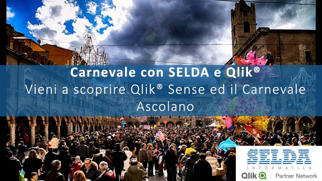 Carnevale con SELDA e Qlik: Partecipa al Nostro Evento