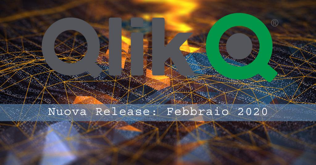Le Novità dell'Aggiornamento di Febbraio 2020 di Qlik Sense
