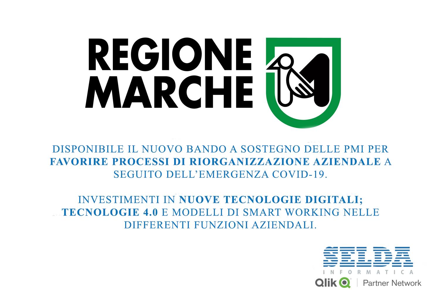 Bando Regione Marche per Investimenti in Nuove Tecnologie Digitali per le Aziende