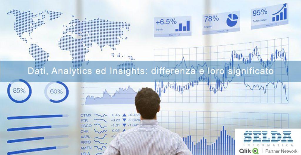 Dati, Analytics ed Insights: differenza e loro significato