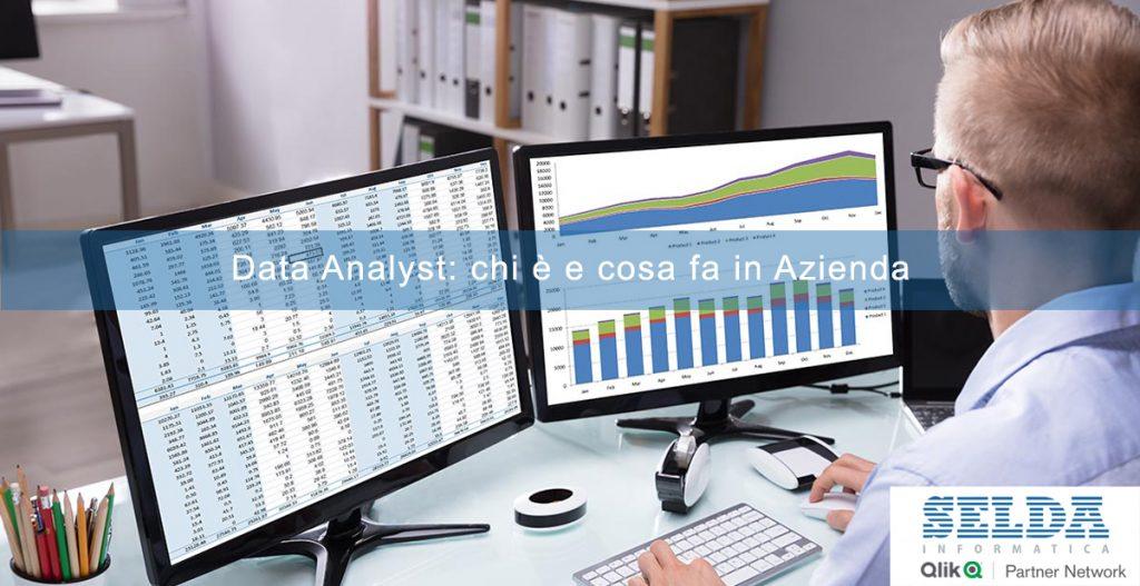 Data Analyst: chi è e cosa fa in Azienda